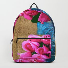 BALL MASON JAR AND ROSES Backpack