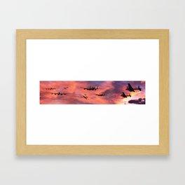 The Royal Air Force - Dawn Raid Framed Art Print