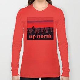 up north, pink hues Long Sleeve T-shirt