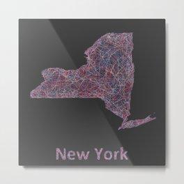 New York Metal Print