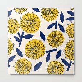 Floral_blossom Metal Print
