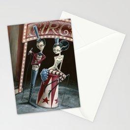 Raven & Ria, Ringmaster & Ringmistress Stationery Cards