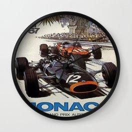 Monaco 67 Wall Clock