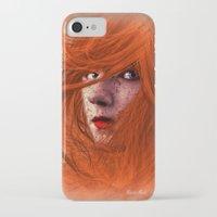 redhead iPhone & iPod Cases featuring redhead by Nuria Mrtz. FotoArt