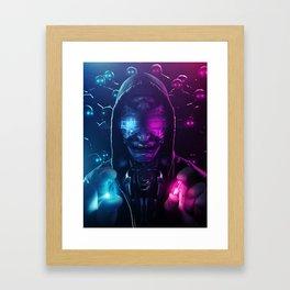 Subsiding Side Effect Framed Art Print