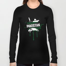 Great Pakistan T-Shirt Men Long Sleeve T-shirt
