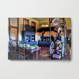 Biltmore Kitchen Metal Print