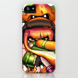 Prepare to be splatted iPhone Case