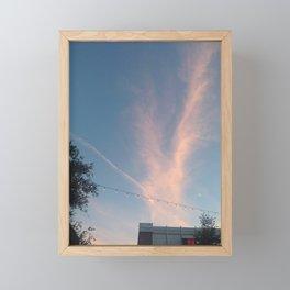 Cloudburst (St Laurent, Montreal, Canada) Framed Mini Art Print