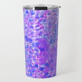 Ultra Violet Watercolor Painting Travel Mug