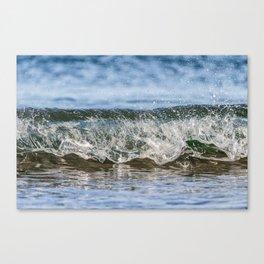 Beach Wave 0388 Canvas Print