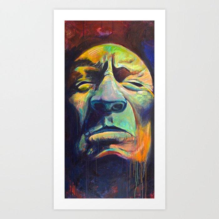 Camden Town Grin Art Print