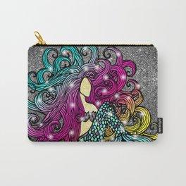 Rainbow Mermaid Carry-All Pouch