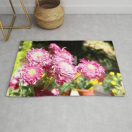 Flower Art One Rug