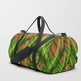 The Dusk Plumed Leaf Duffle Bag