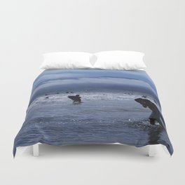 Santa Monica Surf Duvet Cover