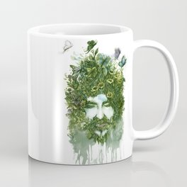 God of Nature Greenery Plantdad daddy  Coffee Mug