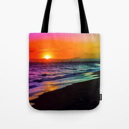 Rainbow Sunset Tote Bag