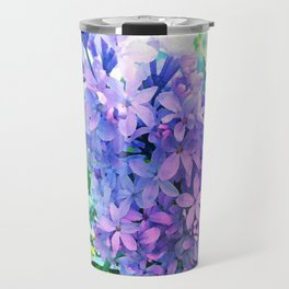 Lilacs in Bloom Travel Mug