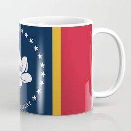 Flag of Mississippi - Magnolia Flag Coffee Mug