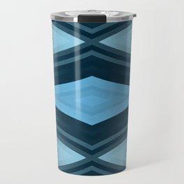 stripes wave pattern 6v2 coi Travel Mug