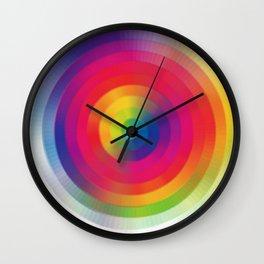 Color Sprial Wall Clock