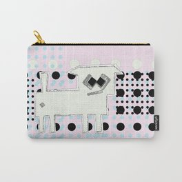 ODD MIKEY Stuff - Pink & Dots Carry-All Pouch