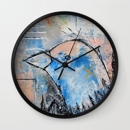 I Remember When The Trees Were Bigger Wall Clock