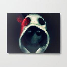 Killer Panda Metal Print