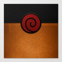 naruto Canvas Prints featuring NARUTO by September 9