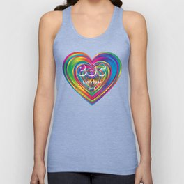 Electric Daisy Carnival Heart Unisex Tank Top