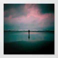 alone. Canvas Print