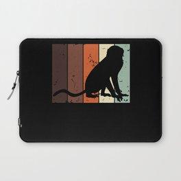 Baboon Ape Monkey Baboons Apes Monkeys Vintage Laptop Sleeve