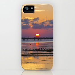 Sunset on the Sound Side iPhone Case