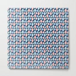 Painted eggs pattern Metal Print