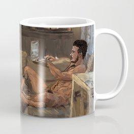 Two Guys One Couch Coffee Mug
