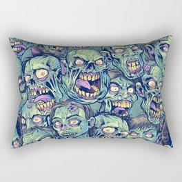 Zombie Repeatable Pattern Rectangular Pillow