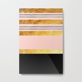 Minimal Complexity III Metal Print