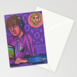 Disco 2000 Stationery Cards