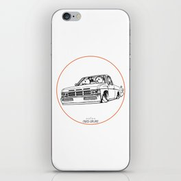 Crazy Car Art 0207 iPhone Skin