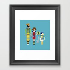 Heart Heroes Framed Art Print