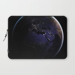 The Earth at Night 1 Laptop Sleeve