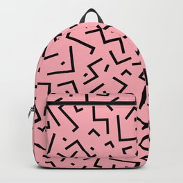 Memphis pattern 34 Backpack