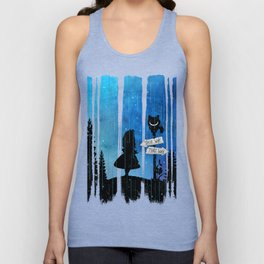 Any Road Will Get You There - Alice In Wonderland Unisex Tank Top