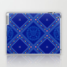 Sweet Winter Blues Laptop & iPad Skin
