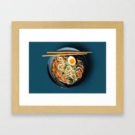 Simple Ramen Framed Art Print