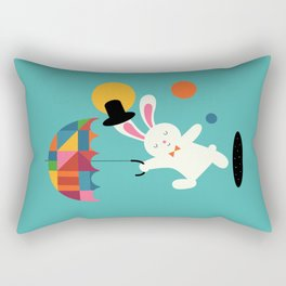 On the way to wonderland Rectangular Pillow