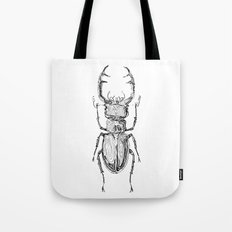 Lucanus cervus Tote Bag
