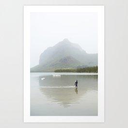 Le Morne, Mauritius Art Print