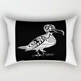 seagull birdy ecopop Rectangular Pillow